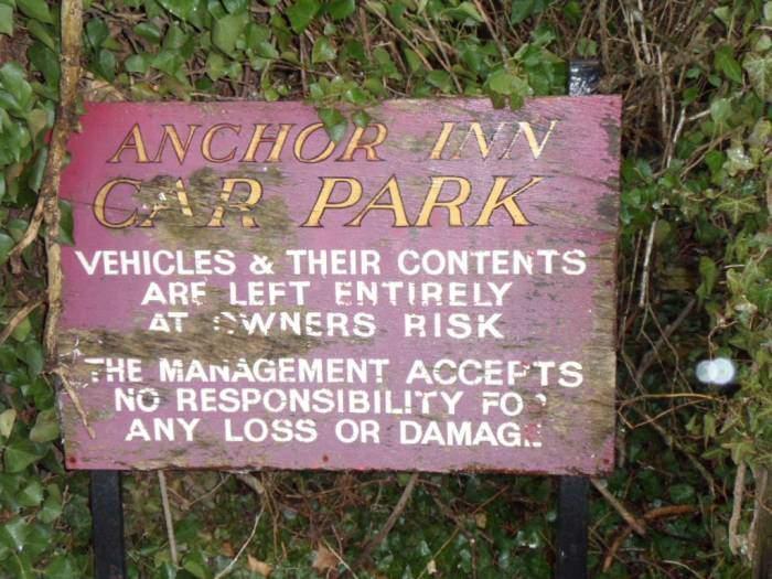 Of the Anchor Inn at Oldbury-on-Severn