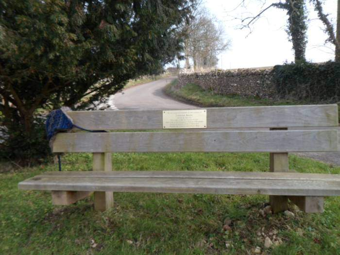 """""""Take a picture of this"""", they said. Why do I need to take a picture of a bench with a hat on it?"""