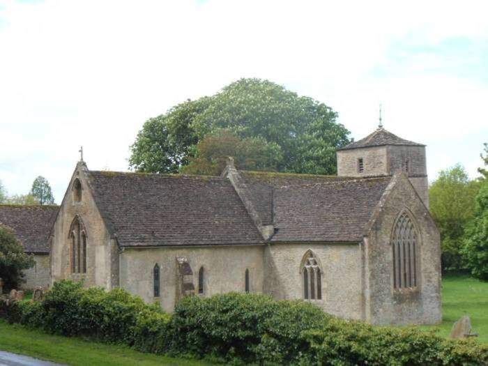 Just across the bridge is the Church of St. Michael and St. Martin, now in the hands of the Churches Conservation Trust