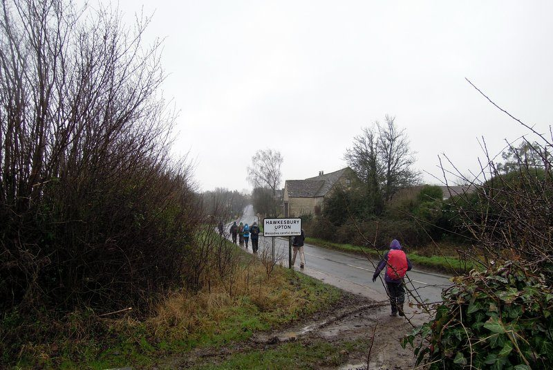 And up the road to the cars. Thank you Anne for a great walk.