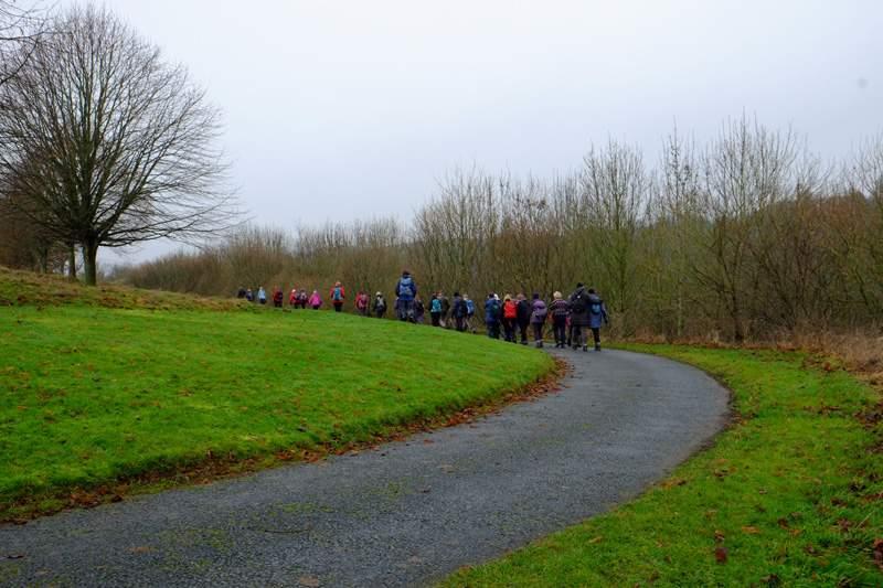 Now following a lane towards Lower Lutteridge Farm