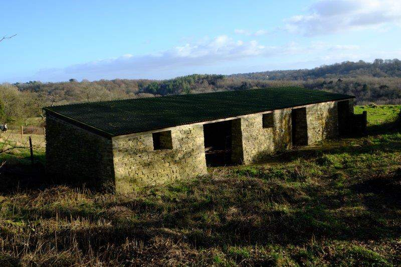 An old field shelter