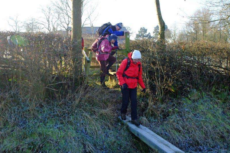 Continuing on our way by walking the plank