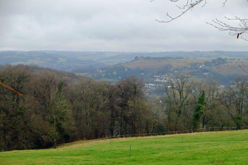 Views over to Rodborough Fort