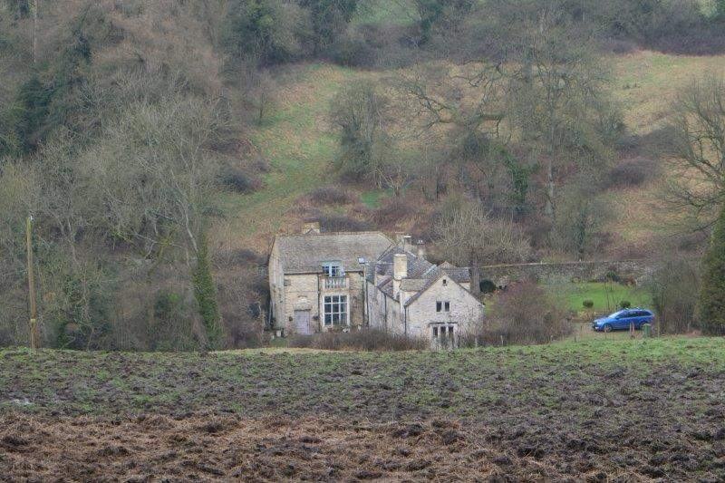 An old house in the valley