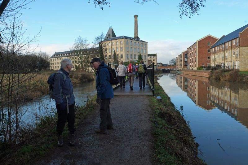 Heading towards Ebley Mill