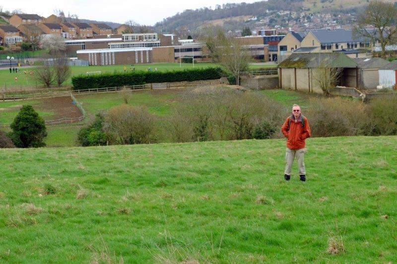 Steve looking a bit lost