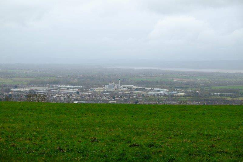 Views over Stonehouse, Dairy Crest and the river