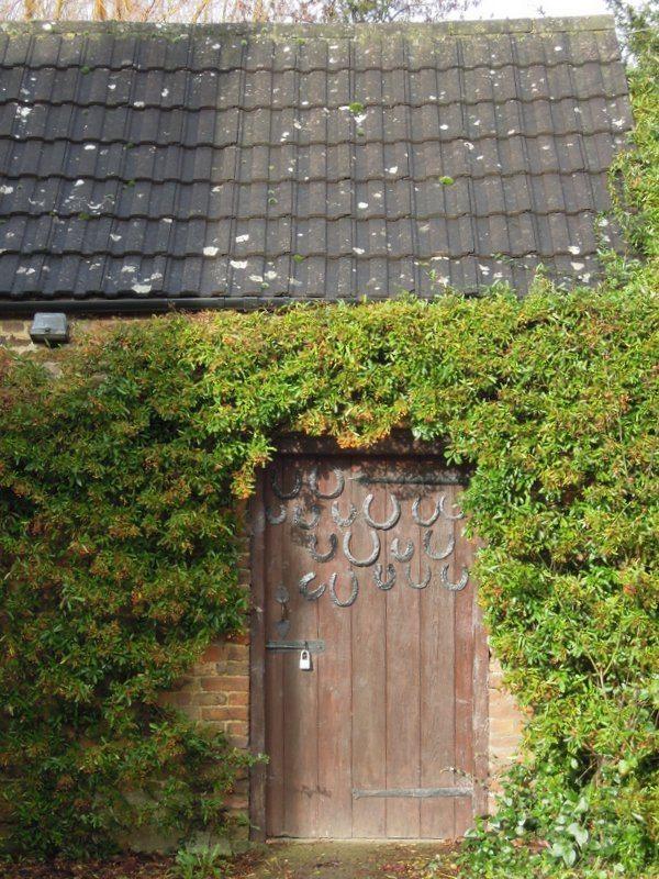 A very lucky door?