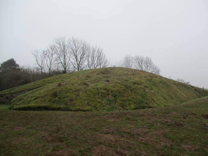 The top of the Long Barrow