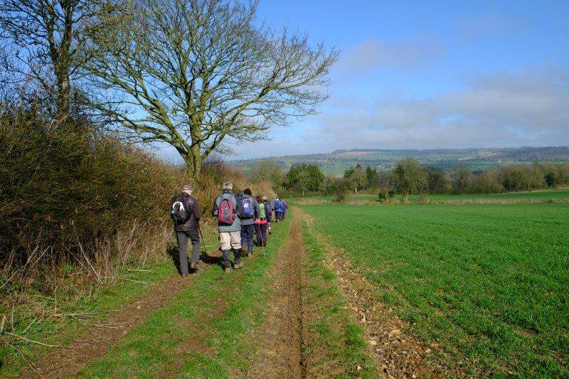 Enid leads us down into Dowdeswell