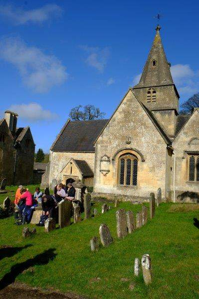 Before we stop at Lower Dowdeswell Church