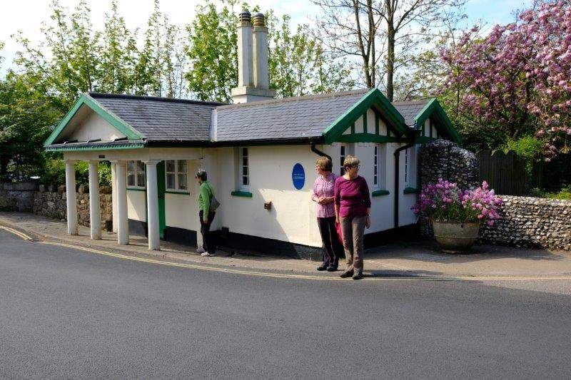 The old Toll Cottage
