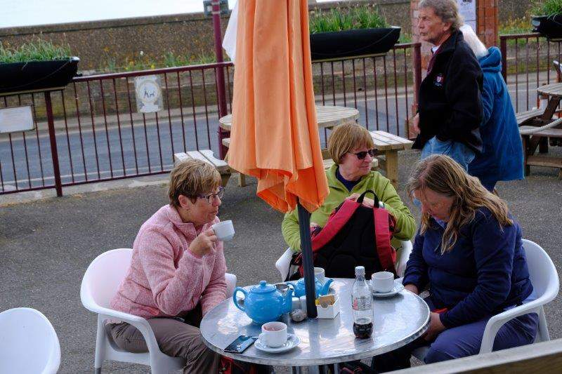 Pot of tea for three or four in Seaton