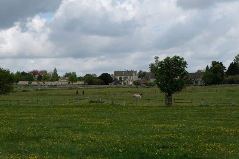 Didmarton across the fields