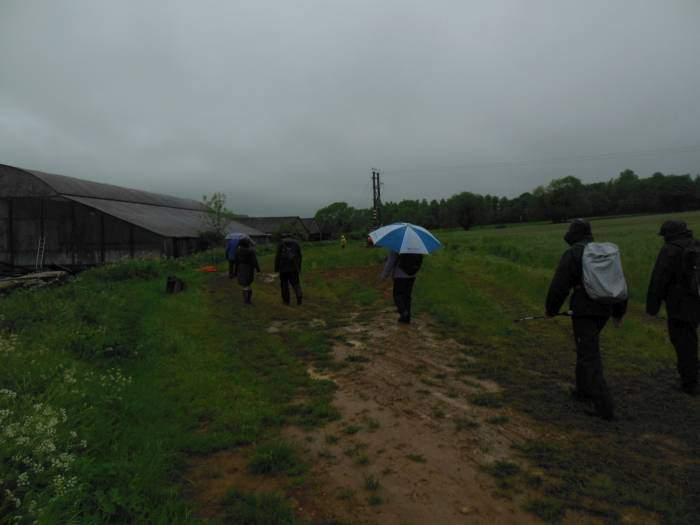 We walk past Hammonds Farm