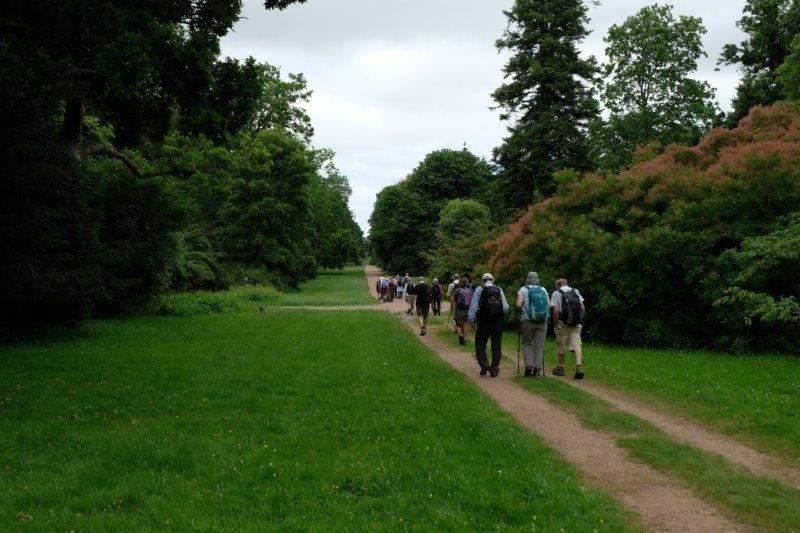 We continue through the Arboretum