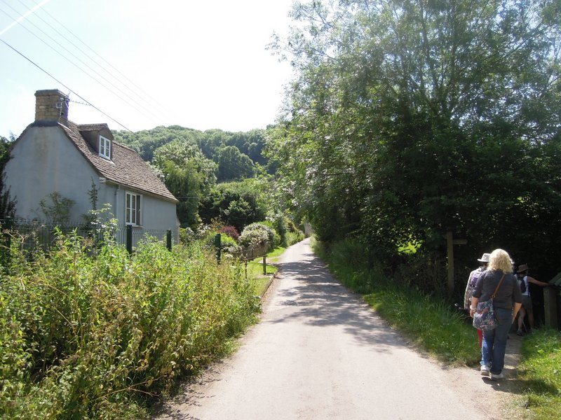 We are now on the Cotswold Way