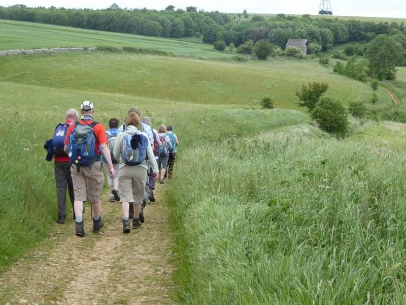 We head towards Wontley Farm