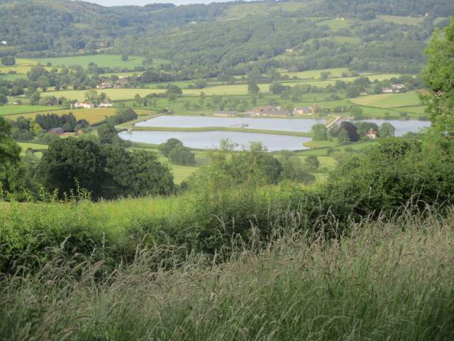 Views across to Witcombe Reservoir