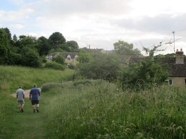 The village soon in sight