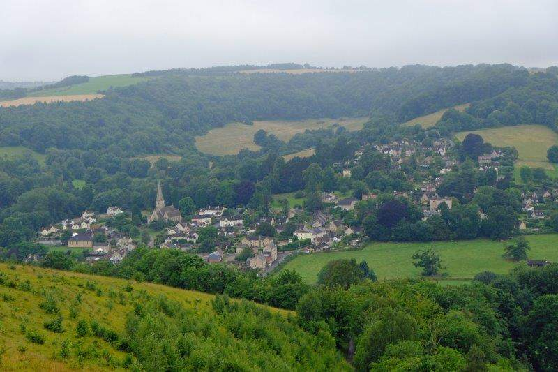 And Woodchester over the other side