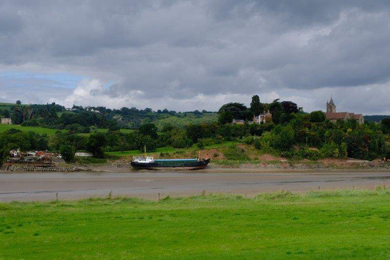 And to Callow Pill with Newnham in the background