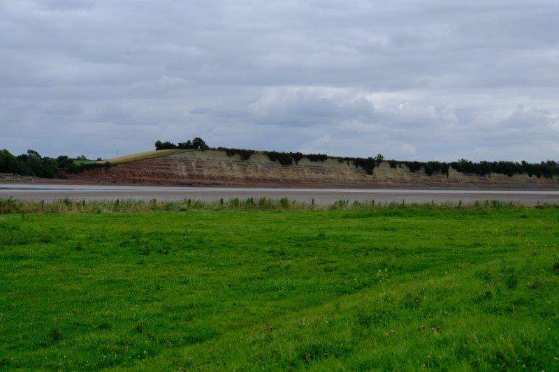 Garden Cliffs now across the river