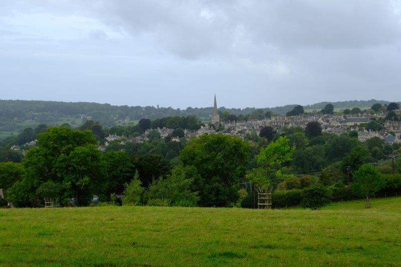 Looking across to Painswick