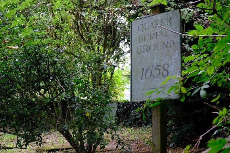 And a Quaker Burial Ground