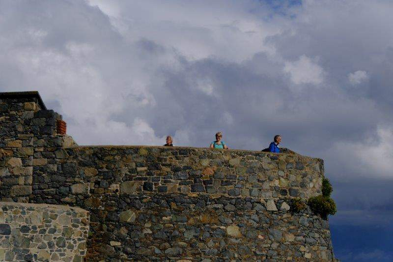 Chance to walk round the battlements