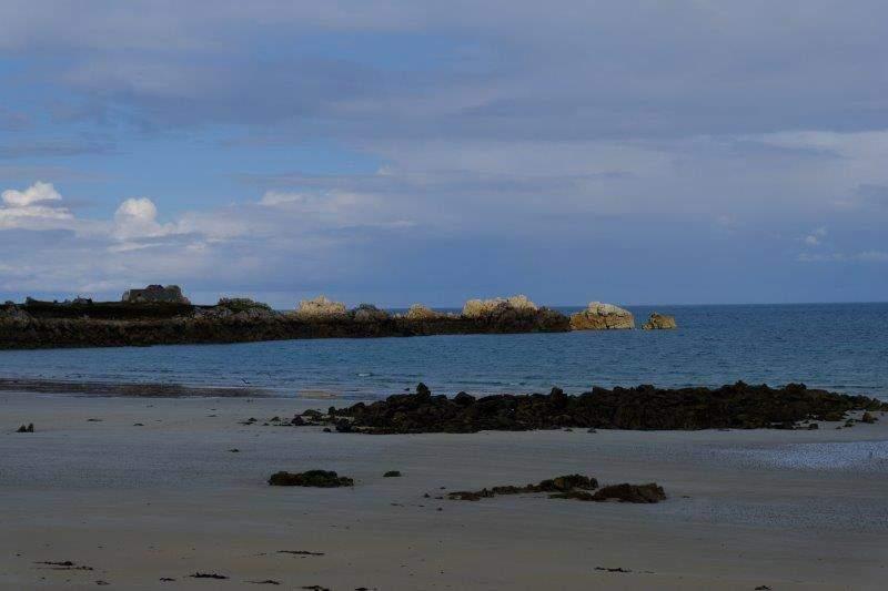 More rocky coastline