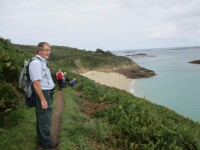 The view from the coastal path is inspiring