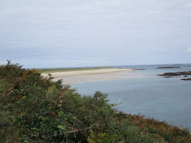 Ahead is Shell Beach