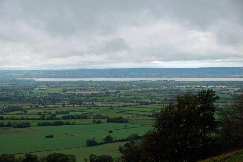 From our starting point at Coaley Peak we can look across the Severn