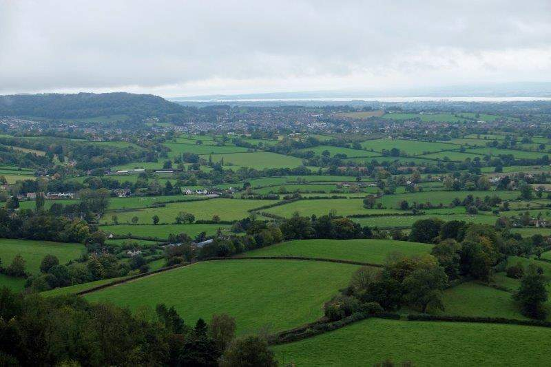 And down the valley to Stinchcombe Hill and Dursley