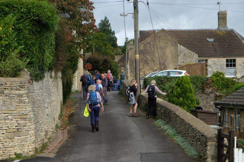 And another one as we continue through the village