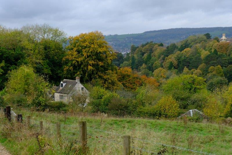And down the valley towards Stroud
