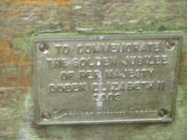 A plaque from 2002