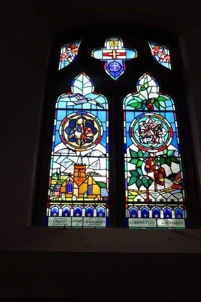 A look at the stained glass windows in St Saviour's church