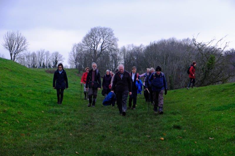 Which we walk round