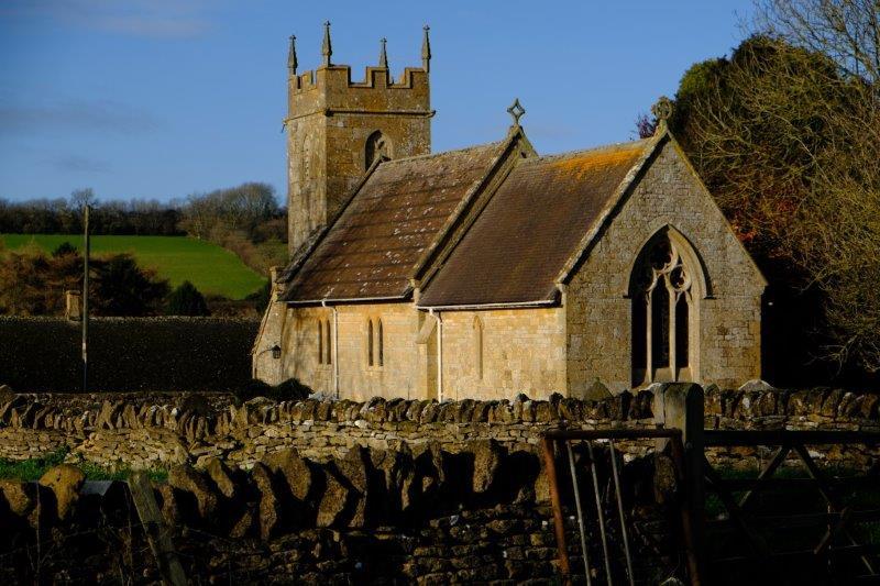 To reach Cutsdean Church