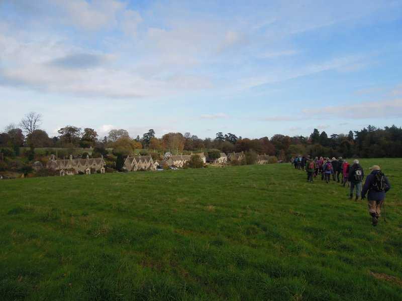 And Westonbirt village