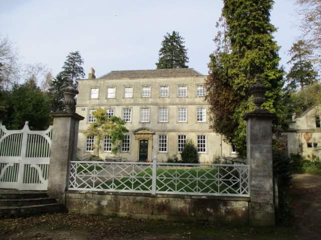 We pass this amazing house