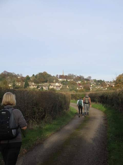 We head back to Painswick