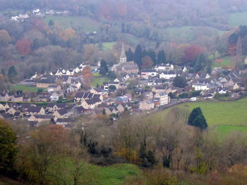 Looking over towards Woodchester