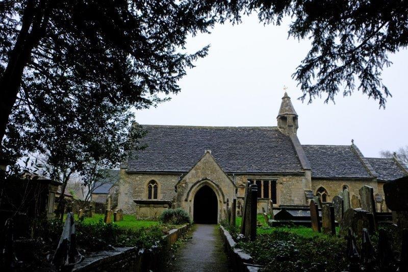 The church at Biddestone