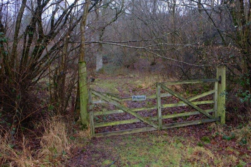 Gate has seen better days