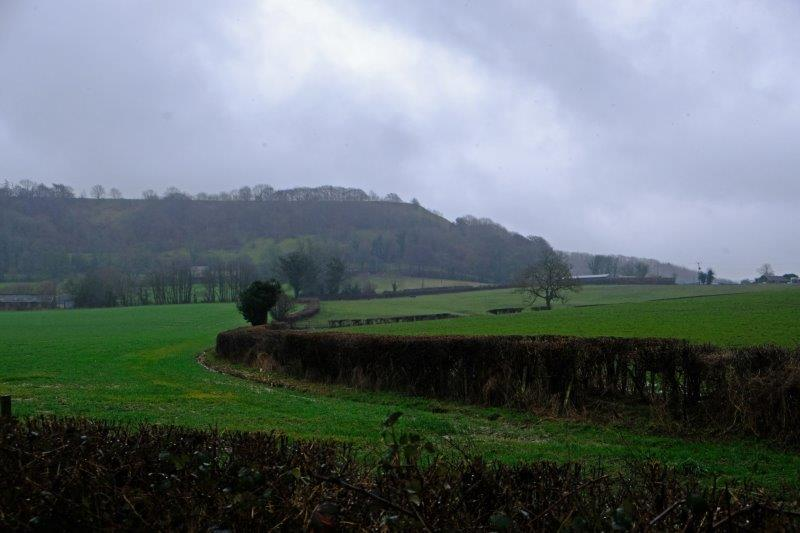 And on the other side is Uley Bury