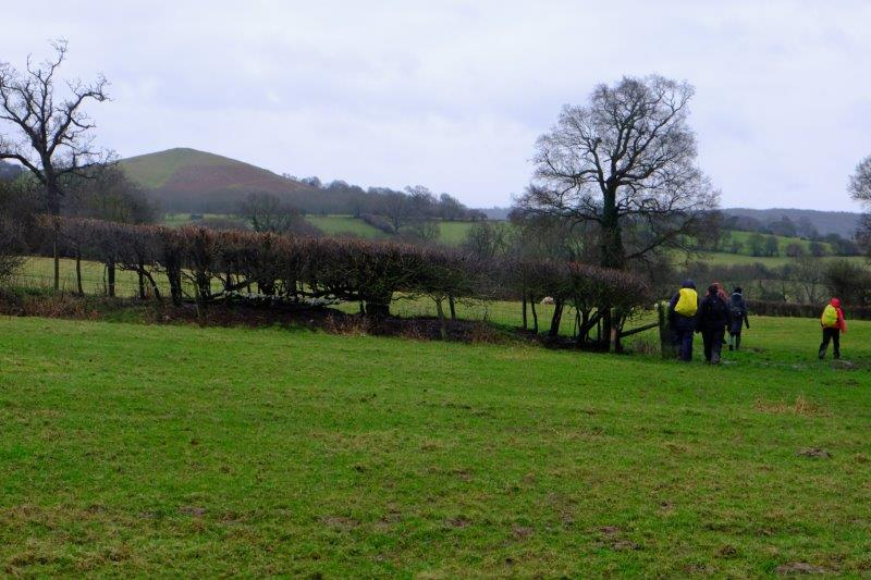 And before long we have Cam Peak in our sights - the end of our walk